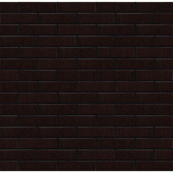 Placaj ceramic modern Brikston Klinker RF 02 Maro Glazurat