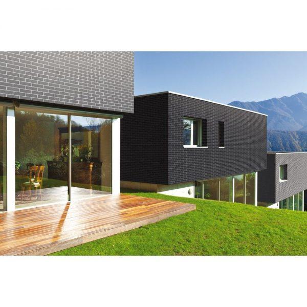 Placaj ceramic modern Brikston Klinker RF 08 Antracit (2)